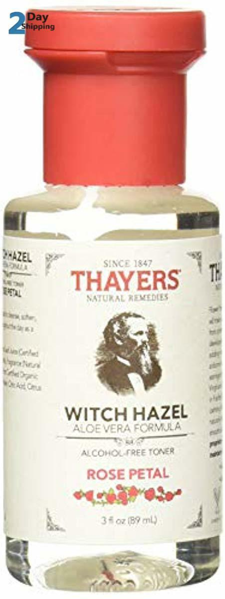 Thayers Alcohol-Free Rose Petal Witch Hazel Facial Toner wit