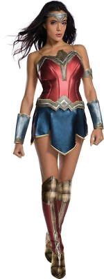 Wonder Woman movie adult womens Halloween costume set ()