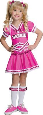 Morris Costumes Girl's Barbie Cheerleader Pink Dress Costume Child M. RU886749MD](Barbie Dress Up Costumes)