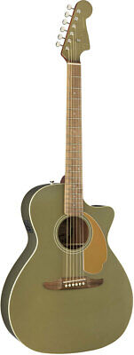 Fender Acoustic / Newporter Player Walnut Fingerboard Olive Satin rare EMS F/S