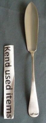 SHEFFIELD HAAGS LOFJE verzilverde vismes 19,4cm nickel silver fish knife Messer