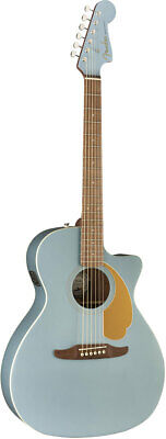 Fender Acoustic / Newporter Player Walnut Fingerboard Ice Blue Satin EMS F/S