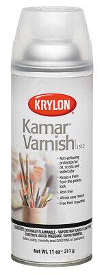SHERWIN WILLIAMS 1312 KRYLON KAMAR K VARNISH SPRAY Krylon Kamar Varnish Spray