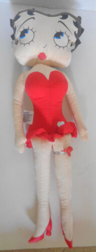 Betty Boop Cloth Doll 1983 King Features Syndicate 17 Inches - $9.99