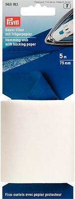 Prym Saum-Vlies mit Trägerpapier  zum Bügeln 968183