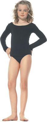 Morris Costumes Girls Long Sleeve Nude Nylon Child Bodysuit 7-10. UA73011NULG