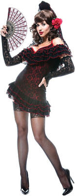 Morris Costumes Women's Lady Of Tradition Spain French Kiss Costume S. PM869043 - French Kiss Costume Halloween