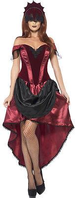 hrerin Francesca Kostüm NEU - Damen Karneval Fasching Verklei (Venezianische Kostüm)