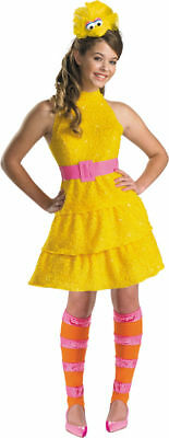 Morris Costumes Girls Big Bird Sesame Street Tween Costume 14-16. DG11480J