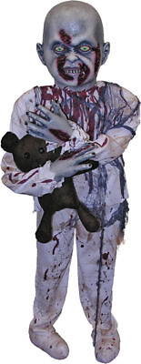 Morris Costumes New Zombie Boy Small Scary Standing Decorations & Props. FM69349 - Scary Zombies Costumes