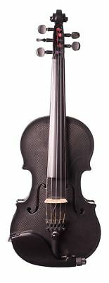 GLASSER CCAEVNO-5S  CARBON COMPOSITE ACOUSTIC ELECTRIC VIOLIN OUTFIT, 5 STRING