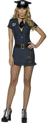 Kostüm Polizistin Sexy/Frech Preacher Karneval Größe - Frech Sexy Kostüm
