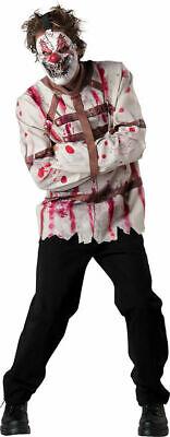 Straight Jacket Halloween (Incharacter Circus Psycho Clown Straight Jacket Adult Halloween Costume)