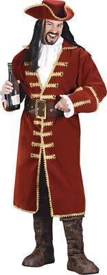 Morris Costumes Men's Blackheart Pirate Captain Morgan Costume Adult. FW5407 (Captain Morgan Costumes)