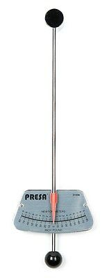 Presa 1/4-in Drive Beam Style Torque Wrench, 0-80 Inch-Pounds, 0-9 Newton Meters