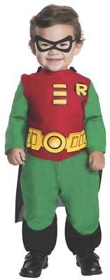 Rubies Teen Titans Go! Robin Dc Comics Kleinkind Halloween Kostüm - Robin Kostüm Kleinkind