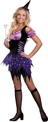 Morris Costumes Women's Switch Witch Junior Dress Purple M. RL7013JMD - Switch Witch Costume