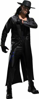 Wwe The Undertaker Costume (Rubies WWE The Undertaker Wrestling Deluxe Adult Halloween Costume)