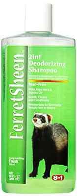 8 In 1 Ferretsheen 2-in-1 Deodorizing Shampoo 10-Ounce .