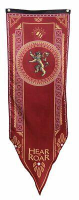 """Calhoun Game of Thrones House Sigil Tournament Banner 19"""" by 60"""" House Lannister"""
