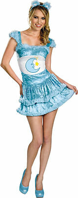 Bedtime Bear Costume for Adult size S (4-6) Care Bears New by Disguise 40340 (Bear Costumes For Adults)