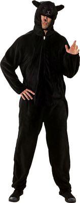 Orl - Erwachsenen Kostüm Schaf schwarz Karneval Fasching