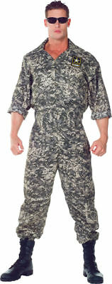 Morris Costumes Adult Men's Uniforms Military Jumpsuit XXL. UR29390XXL