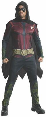 Rubies Batman Arkham City Robin Umhang Overall Erwachsene Halloween - Batman Arkham City Kostüm