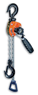 CM 602 MINI RATCHET LEVER HOIST  550LB CAP. 5' lift 0210