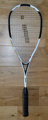 iSquash ELITE carbon graphite squash racquet/racket 140g very durable slim beam