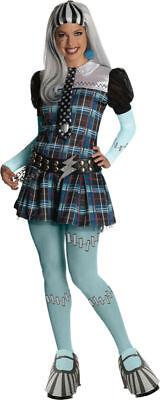 Morris Costumes Women's Monster High Frankie Stein Adult Large. RU880700LG - Frankie Stein Adult Costume