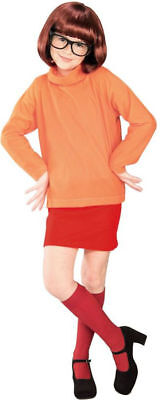Morris Costumes Girls New Scooby Doo Velma Child Costume 12-14. RU38963LG - Velma Costume Child