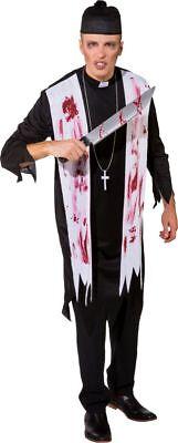 Orl - Herren Kostüm Zombie Priester Halloween - Zombie Kostüm Männliche