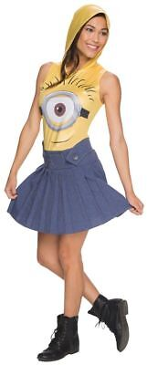 NEW Despicable Me Female Minion  Adult Womens Costume  Medium](Minion Costume Womens)