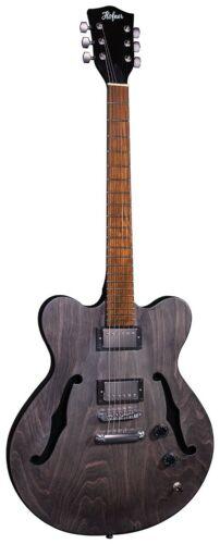 Hofner Verythin Electric Guitar - Black Satin (RRP £349) DPS