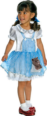 Morris Costume Girls New Short Sleeve Characters Wizard Costume 2T-4T. RU885763T](Dorothy Costume 4t)