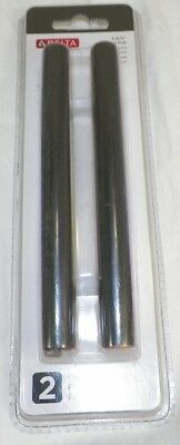 2 PACK OF DELTA DRAWER PULLS BRONZE WITH COPPER HIGHLIGHTS 6 1/16 HANDLE  -J6