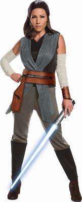 Rub - Star Wars Deluxe Damen Kostüm Rey Karneval - Rey Star Wars Kostüm Damen