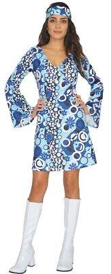 Hippie Kostüm Kleid Damen 60er 70er Jahre - - 70er Jahre Kleid