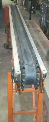 Emi Belt Conveyor 12ft Variable Speed Dc Power Supply 110 Vac Complete Works