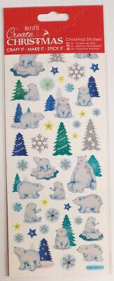 fkleber, Winter, Weihnachten, Tannenbaum, Schneeflocke (Weihnachten Eisbär)