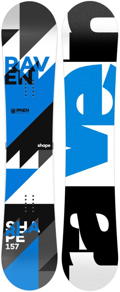 Snowboard Raven Shape 2019 - alle Längen - Neu!