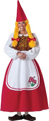 Morris Costumes Women's Mrs. Garden Gnome Medium. IC1097MD](Mrs Gnome Costume)