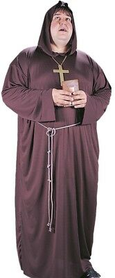 Monk Costume Mens Friar Tuck Medieval Robe - Big and Tall XL Plus Size - Fast - Medieval Costume Plus Size