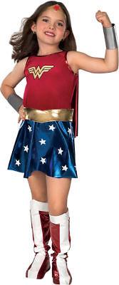 Morris Costumes Girls  Wonder Woman Superhero Halloween Costume 12-14. RU82312LG - Marvel Girls Costumes
