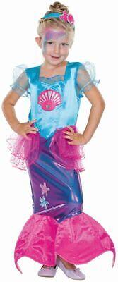 Mot - Kinder Kostüm Kleine Meerjungfrau Karneval - Kleine Meerjungfrau Halloween Kostüm