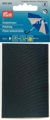 Prym Nylon Flicken  18 x 10mm selbstklebend grau 929504