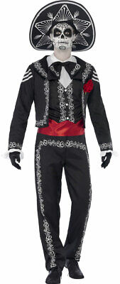 Tag der Toten Herrenkostüm NEU - Herren Karneval Fasching Verkleidung Kostüm