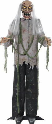 Morris Costumes Zombies Halloween Hanging Haunted Animated Decorations & Props](Halloween Decorations Animated Props)