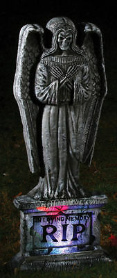 Tombstone Costumes (Morris Costumes Gothic 24 Inches Lu Angel Tombstone.)